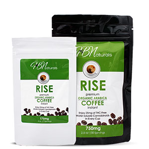Rise CBD Coffee